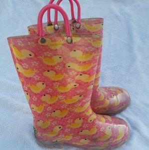 Other - Girls light up rain boots